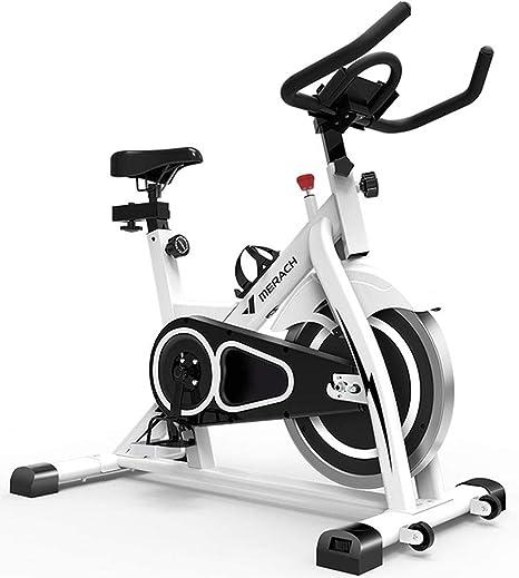 LOO LA Bicicleta estática de Spinning Fitness, Profesional Bicicleta Indoor, Pantalla LCD, Spinning Bike para Gimnasio En Casa,Negro: Amazon.es: Deportes y aire libre