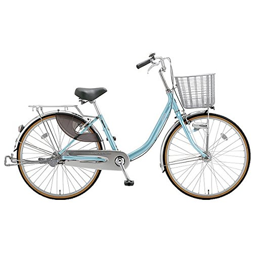 ミヤタ(MIYATA) シティサイクル 自転車 クォーツエクセルライト DQXU43L8 (AB31) アルミナスカイブルー B077NSFDYW