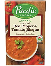 Pacific Foods Organic Hearty Roasted Red Pepper & Tomato Bisque, 472ml