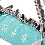 i-baby-Crib-Bumper-Pads-Baby-Bumper-Baby-Protector-Newborn-Pillow-3D-Cartoon-Animal-Head-Guard-Bumper-Nursery-Bedding-Aqua-Unicorn