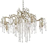 Possini Euro Branches 31″ Wide Silver Champagne Chandelier Review