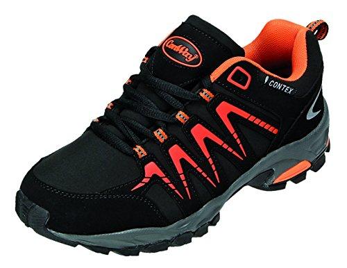 Conway 607398 - Zapatillas Hombre negro / naranja