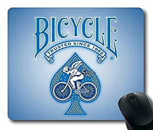 Bicycle Playing Cards Blue 2 Mouse Pad Desktop Laptop Mousepads Comfortable Office Mouse Pad Mat Cute Gaming Mouse Pad