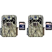 Browning Trail Cameras Spec Ops 10MP HD Video IR Game Camera, 2 Pack + SD Cards
