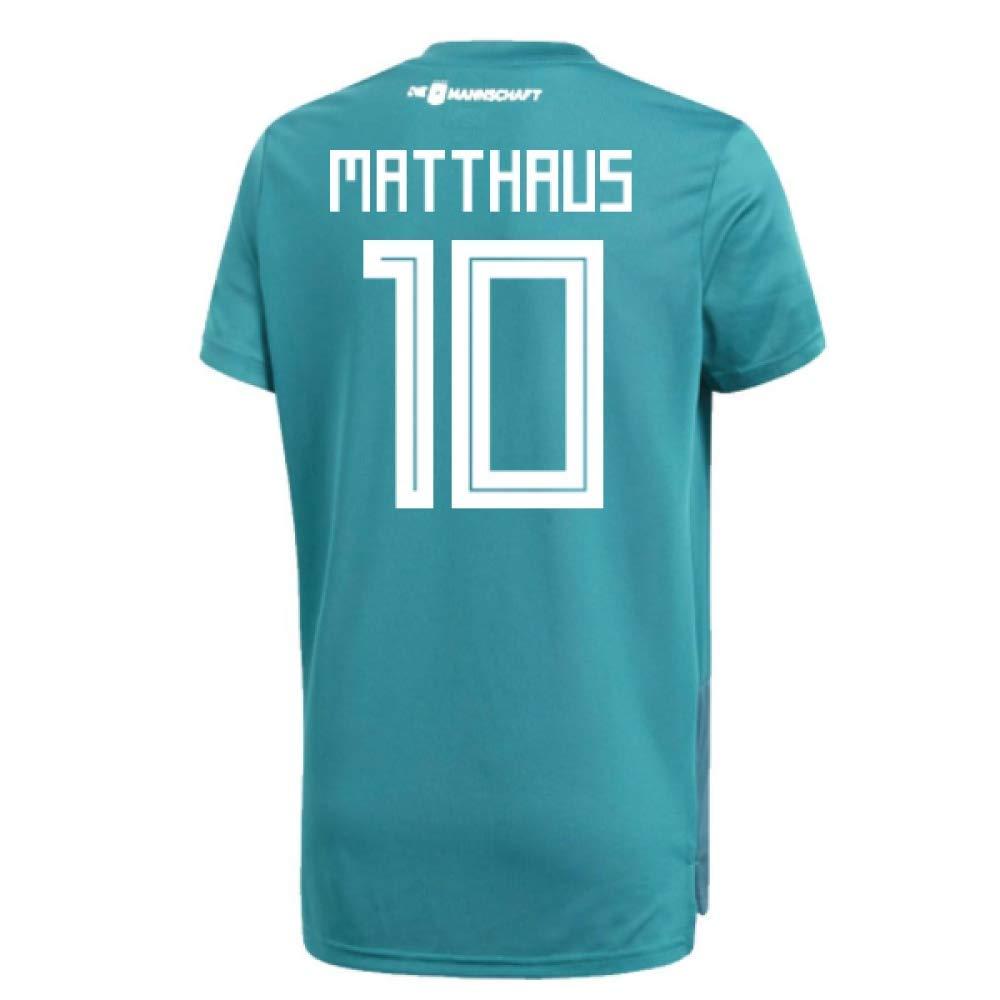 2018-19 Germany Away Training Football Soccer T-Shirt Trikot (Lothar Matthaus 10)