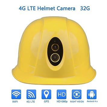 Amazon.com: OnethinGCAM - Casco inteligente con lente de ...