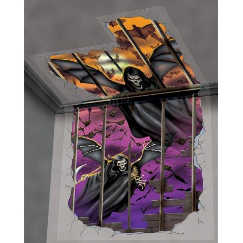 Amscan Halloween Deluxe Scene Setters Add-on - Kit Winged Reaper -