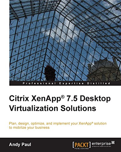 Citrix XenApp® 7.5 Desktop Virtualization Solutions Epub