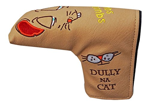 割り当てるアグネスグレイ出発するDULLY NA CAT(ダリーナキャット) ヘッドカバー DULLY NA CAT ゴルフパターカバー【AMIGO】 ユニセックス DN-PC