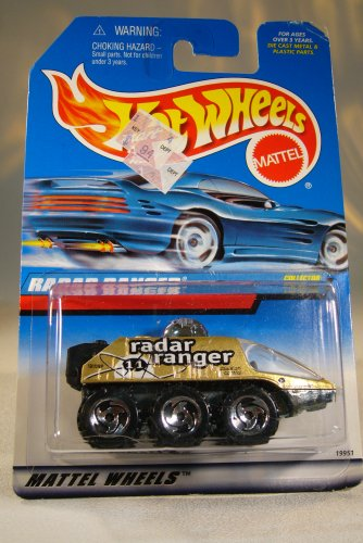Hot Wheels 1988 164 Radar Ranger Die Cast Car Collector 782