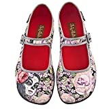Hot Chocolate Design Chocolaticas Flora La Muerte Women's Mary Jane Flat Multicoloured HCD 38