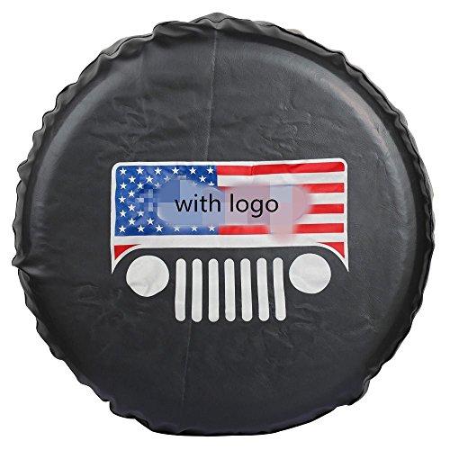 Amooca WRANGLER,LIBERTY Spare Tire Cover TJ,JK Wrangler, KJ Liberty 27