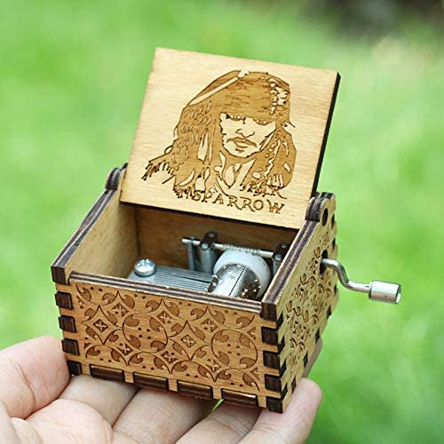 VDV Caja de música – 19 Estilo Davy Jones Mano Crank Me Music Box ...