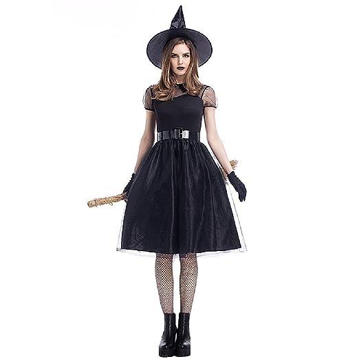 Vestido de juego de rol de bruja reina, disfraces de Halloween ...