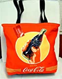 Coca-Cola - Yellow Circle Bottle Small Size - Tote Bag