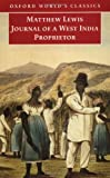 Journal of a West India Proprietor, M. G. Lewis, 0192832611