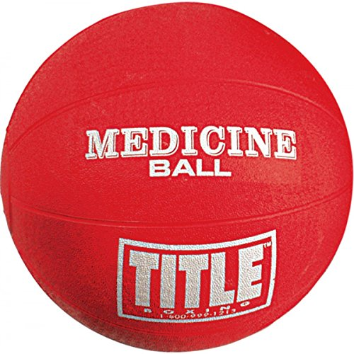 TITLE Boxing Max-Grip Rubber Medicine Balls, X-Small