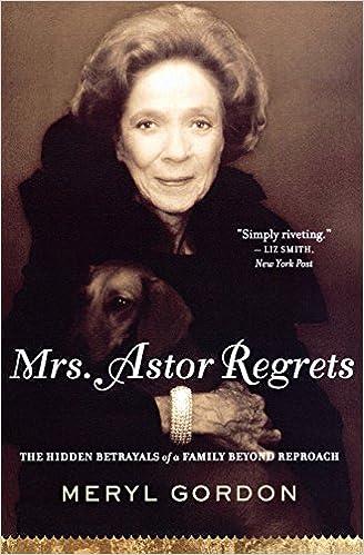 mrs astor regrets gordon meryl