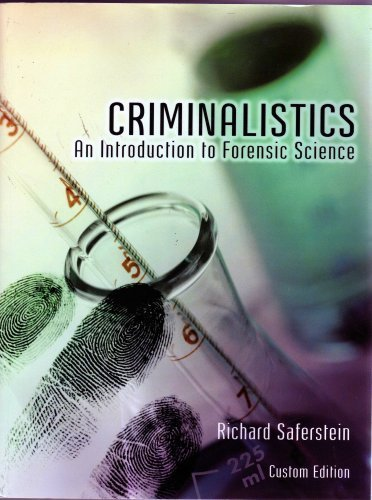 Criminalistics: an introduction to forensic science essay