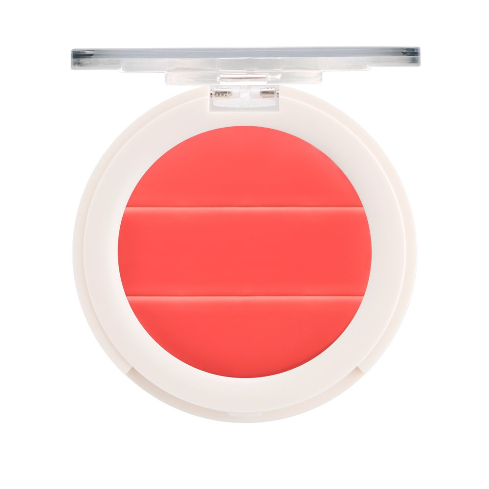3-in-1 Lip + Cheek Cream. Coconut Extract for Radiant, Dewy, Natural Glow - UNDONE BEAUTY Lip to Cheek Palette. Blushing, Highlighting & Tinting. Sheer to Opaque Color. Vegan & Cruelty Free. ROSY Tru Fragrance & Beauty