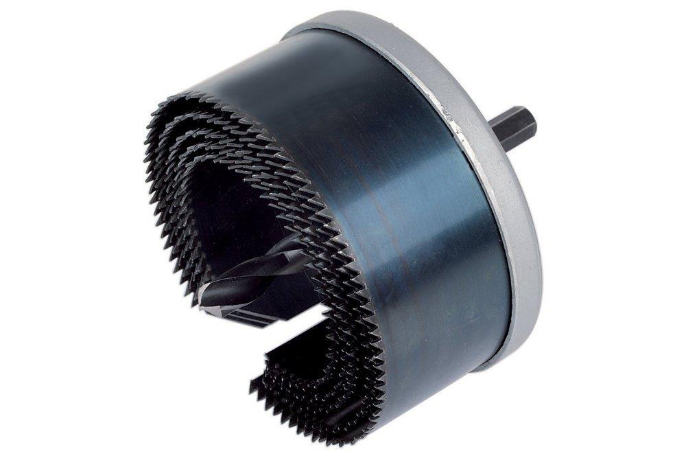 con 5 Hojas Profundidad de Corte 38 mm Producto de posicionamiento secundario para la secci/ón de Material el/éctrico Wolfcraft 8918000 8918000-1 Sierra de Corona est/ándar