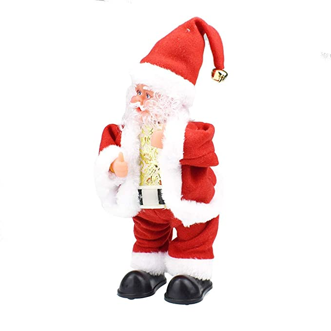083a9bf4131 Amazon.com  CMrtew ❤ 2018 New Christmas Electric Twerk Santa Claus Toy  Music Dancing Doll Xmas Navidad Gift Toys for Children (Multicolor