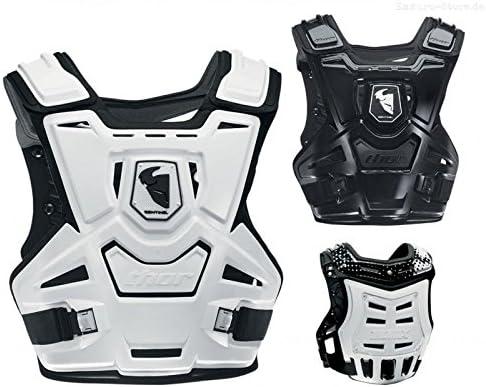 Thor Sentinel Mx Brustpanzer RÜcken Protektor Schwarz Offroad Motocross Mx Quad Auto