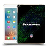 Official NFL Blur Seattle Seahawks Logo Hard Back Case for iPad 9.7 2017 / iPad 9.7 2018