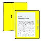 MightySkins Protective Vinyl Skin Decal for Amazon Kindle Oasis 6'' (8th Gen) wrap Cover Sticker Skins Solid Yellow
