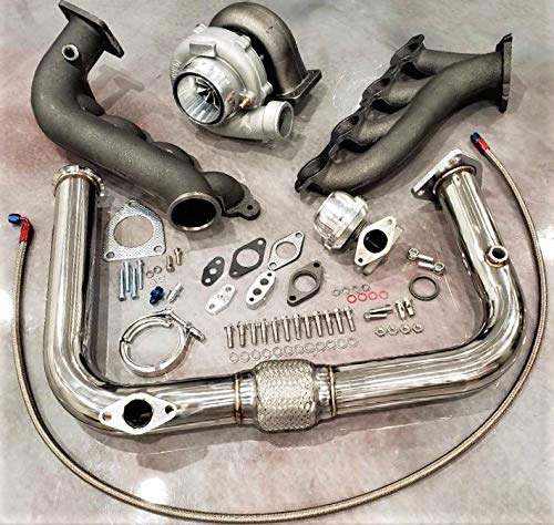 Amazon.com: Turbo Kit 6466 T4 Silverado Sierra NEW Turbocharger Vortec V8 LS 4.8 5.3 6.0 99+: Automotive