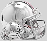 Riddell NCAA Ohio State Buckeyes Unisex Ohio State Buckeyes Helmet Replica Mini Speed Style Chrome Alternatehelmet Replica Mini Speed Style Chrome Alternate, Team Colors, One Size