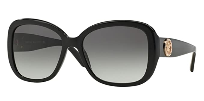 4b14f64dcb8f Image Unavailable. Image not available for. Colour: Versace Sunglasses  VE4278BA GB1/11 Black Gray Gradient 57 17 135