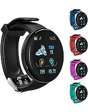 Relógio inteligente D18S, monitor de freqüência cardíaca de pressão arterial masculina rastreador de condicionamento físico SmartWatch Android IOS feminino moda relógio eletrônico