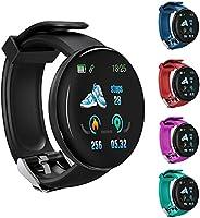 Relógio inteligente D18S, monitor de freqüência cardíaca de pressão arterial masculina rastreador de condicion