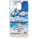 TOOPOOT(TM) Sky Sea Anchors Back Case For Samsung Galaxy S5 i9600 G900