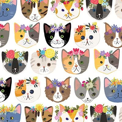 charity item Kittens Christmas wrapping paper