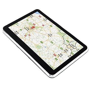 TOOGOO 5 Pulgadas Navegacion GPS Navegador de Camion Coche 128M+8Gb Mtk FM Sat Nav Navitel con Mapas de Europa # 560: Amazon.es: Coche y moto