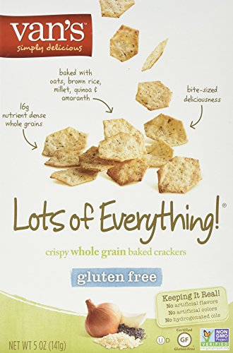 Van's Simply Delicious Gluten-Free Crackers, Lots of Everything!, 5 oz. (pack of 6)
