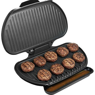 George Foreman 144 Sq. In Family Size Electric Grill, Large Champ Indoor Griller (Kitchen Aid Vent Grille compare prices)