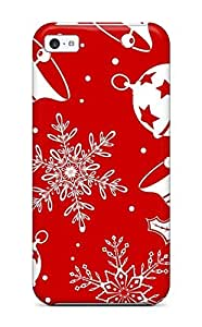 High Quality DanMarin Holiday Christmas Skin Case Cover Specially Designed For Iphone - 5c