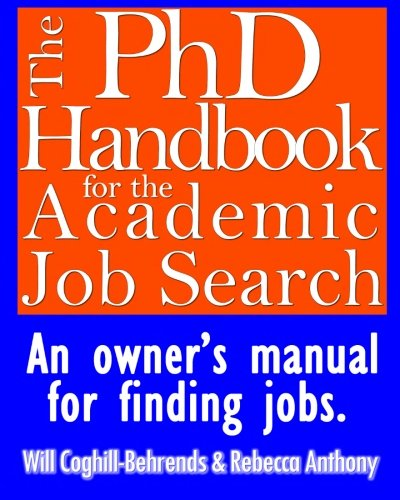 The PhD Handbook for the Academic Job Search: An owner