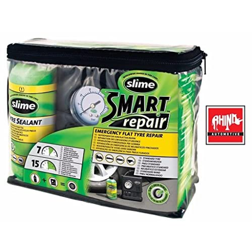 Rhino Automotive© d'urgence Slime Smart Repair Pompe de pneu anti-crevaison Compresseur Rw1512 good