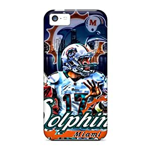 LpzXE12728VeSLe Snap On Case Cover Skin For Iphone 5c(miami Dolphins)