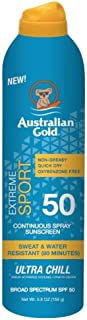 product image for Australian Gold Continuous Spf#50+ Spray 6 Ounce Xtreme Sport (177ml) (2 Pack)