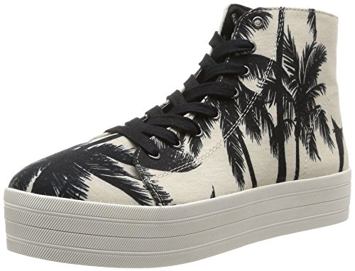 Black White Zapatillas Steve para BOUNTIE Madden Mujer wqY4gXx