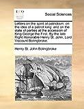 Letters on the Spirit of Patriotism, Henry St. John Bolingbroke, 1170378730