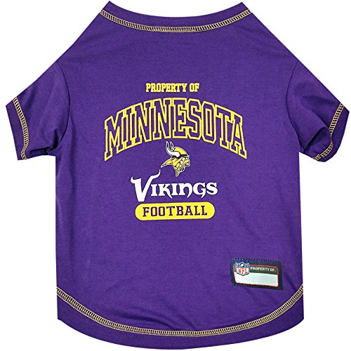 NFL MINNESOTA VIKINGS Dog T-Shirt, -