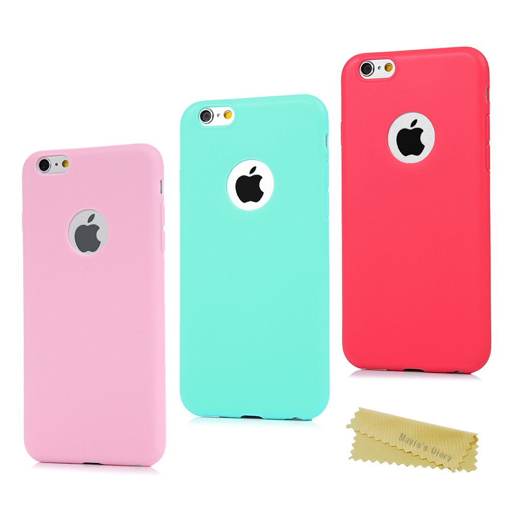 carcasa silicona iphone 6 plus