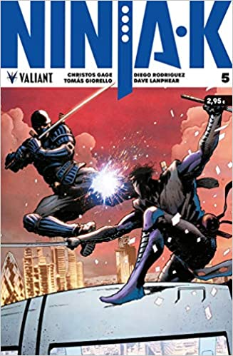 Ninja-K 5 (Valiant - Ninja-K): Amazon.es: Christos Gage ...