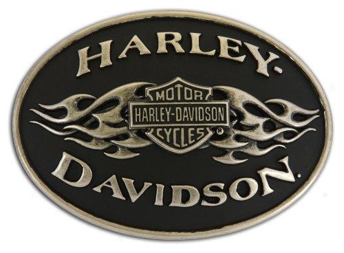 Harley Belt Buckles (Harley-Davidson Black Flame Belt)